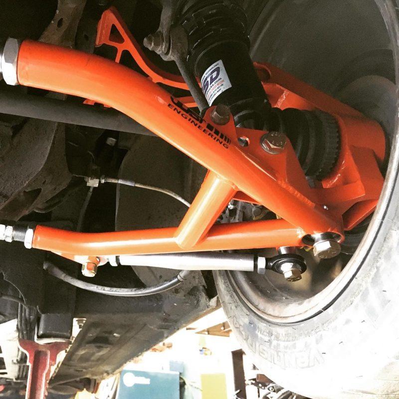 Miata NA rear grip kit